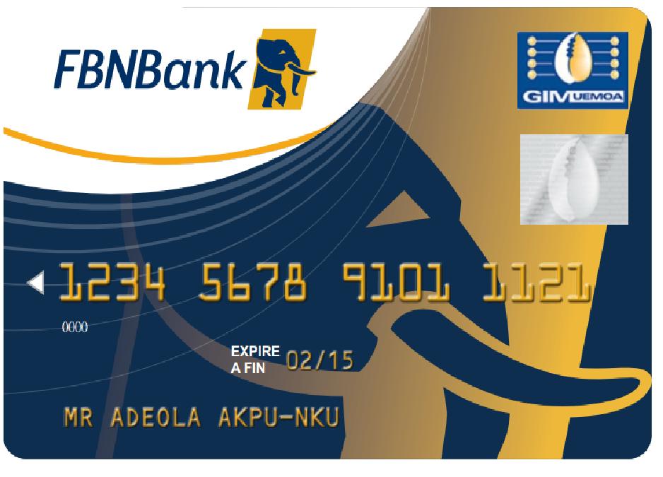 First Bank Prepaid Cards   FBNBank Sénégal